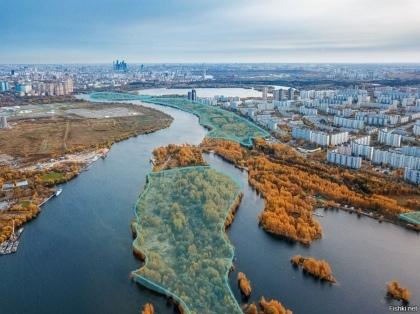 Конкурс по развитию территории набережной правого берега Москвы-реки от МКАД до Строгинского шоссе.
