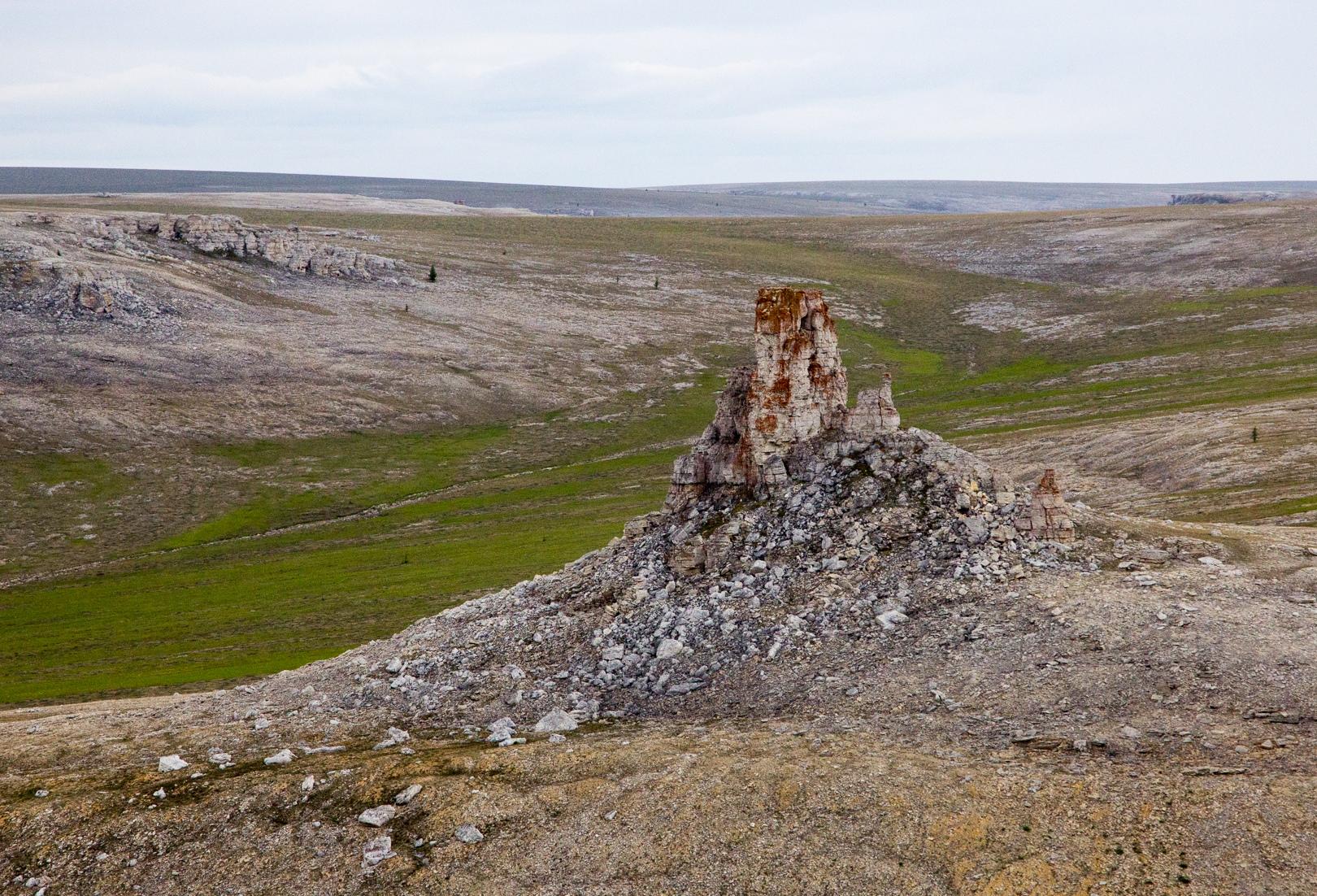 анабарское плато древний город