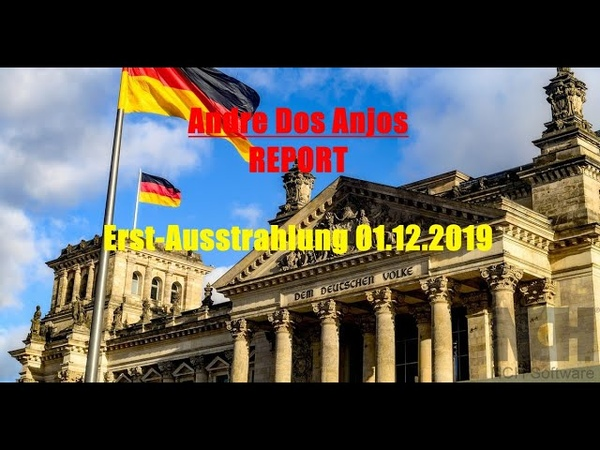 Andre Dos Anjos REPORT - Erst-Ausstrahlung 01.12.2019