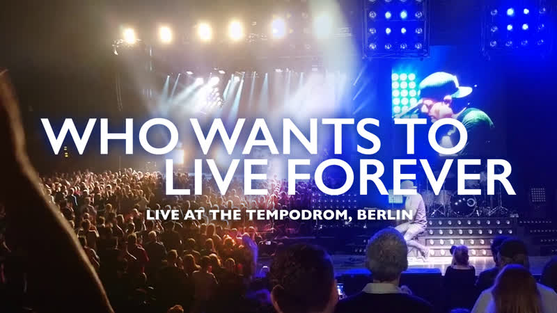 Marc Martel Who Wants To Live Forever Live at The Tempodrom One Year Ago in Berlin Germany