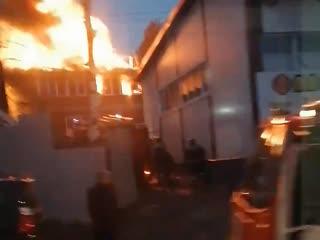 Пожар на Каменском шоссе