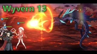 Epic Seven - Wyvern 13 test run 4 minutes (Furious Taranor Guard Alexa)