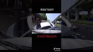 Небольшая подборка автомобильный аварий и происшествий на тайских дорогах. Часть 1