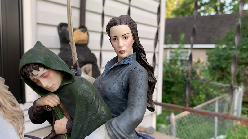 Weta Workshop's Arwen and Frodo on Asfaloth Statue Review