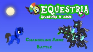 Terraria MLP Modded: Changeling Army Battle