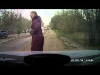Тяжелая авария в Пензе.