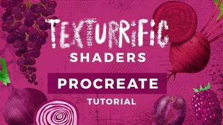 Texturrific Shaders Tutorial for Procreate :: Bardot Brush