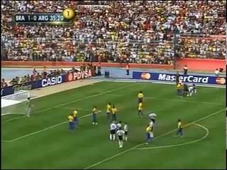 Argentina vs Brazil: Final Copa America Venezuela 2007 (Completo)