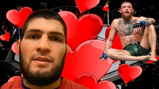 Обращение Хабиба Нурмагомедова к Конору Макгрегору UFC (нейросети)