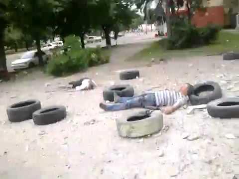 18 Луганск 02 06 2014 После авиа удара 2 часть из 6 YouTube