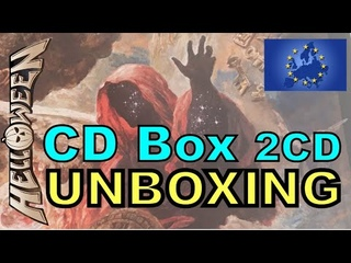 68 HELLOWEEN - UNBOXING CD BOX (2CD) 14 Tracks EUROPE Version