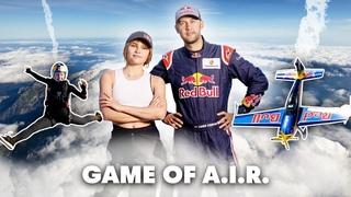Sky Diver VS Aerobatic Pilot | Game Of .
