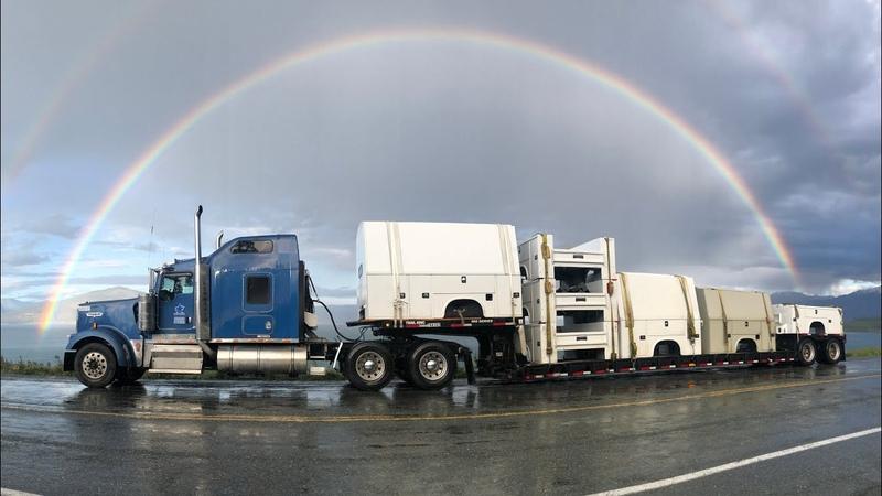 Дорога на Аляску Вторая серия
