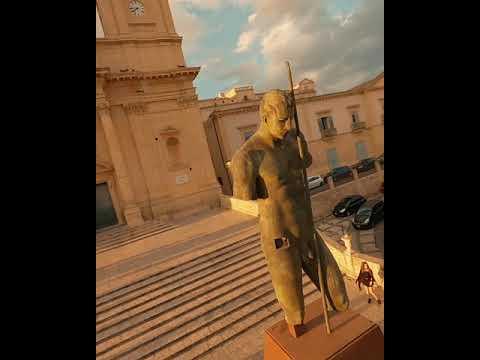 Beta 95XV3 Flying through Sicily shorts
