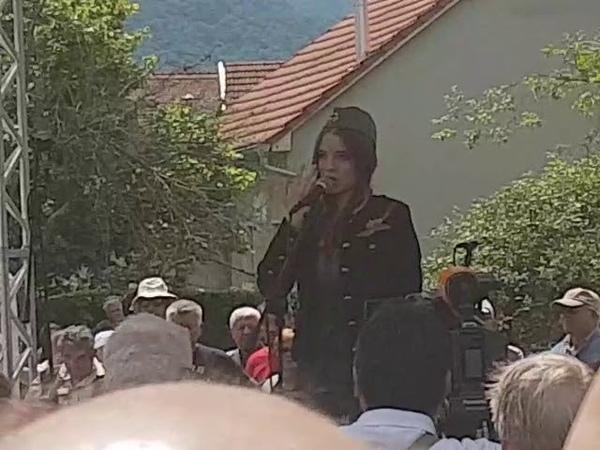 Katarina Radulović Samo da rata ne bude Kumrovec 2019