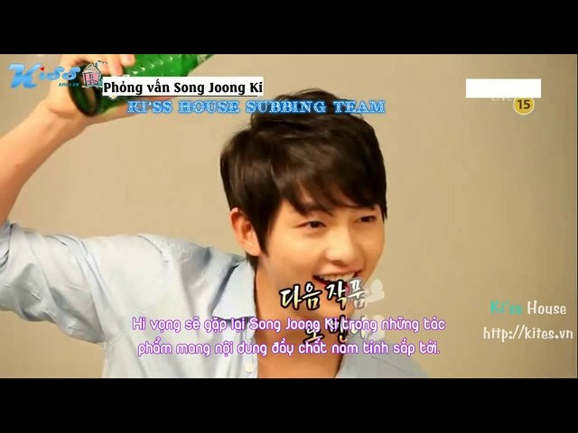 Kiss House Joong $ection TV CF