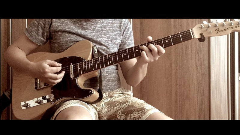Bruno Mars Treasure guitar cover cover by Oleg Makarchuk