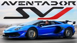 $800,000 INSANITY! Lamborghini Aventador SVJ Roadster Review