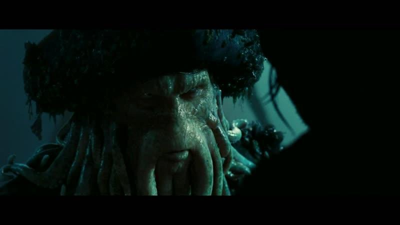 Пираты Карибского моря 2 Уилл становится пленником Летучего Голландца Договор Воробья и Джонса
