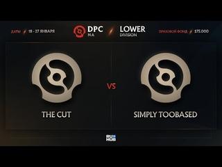 The Cut vs simply TOOBASED, Dota Pro Circuit 2021: S1 - NA, bo3, game 2 [Jam & Lazar']
