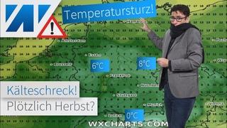 Kältewelle im August! Temperatursturz mitten in den Hundstagen. Keine Sommerhitze in Sicht!