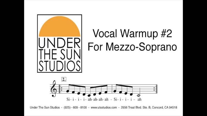 Vocal Wamrup 2 for Mezzo Soprano