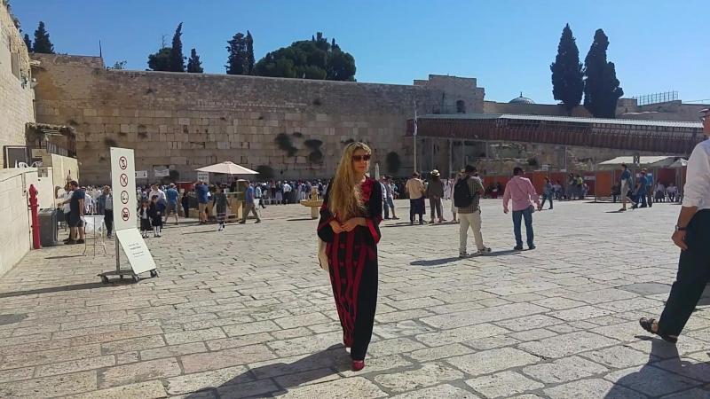 Стіна Плачу, Єрусалим, 2017