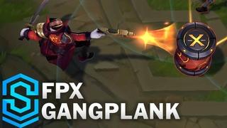 FPX Gangplank Skin Spotlight - Pre-Release - League of Legends