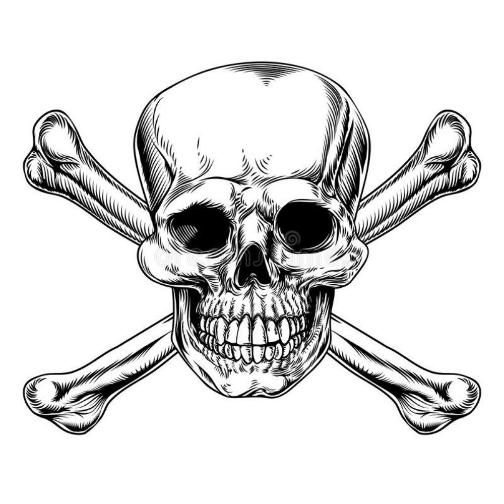 символ череп и кости