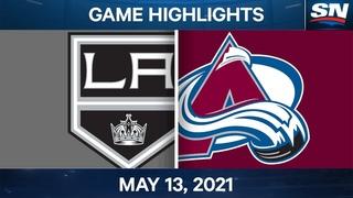 NHL Game Highlights | Kings vs. Avalanche - May 13, 2021