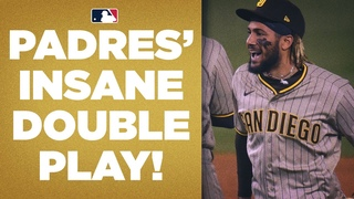 THINK FAST! Padres pull off INSANE double play to hold onto lead in win over Dodgers!
