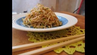 Корейская кухня: Закуска из пророщенного маша или Сук Джу Намуль (숙주나물)