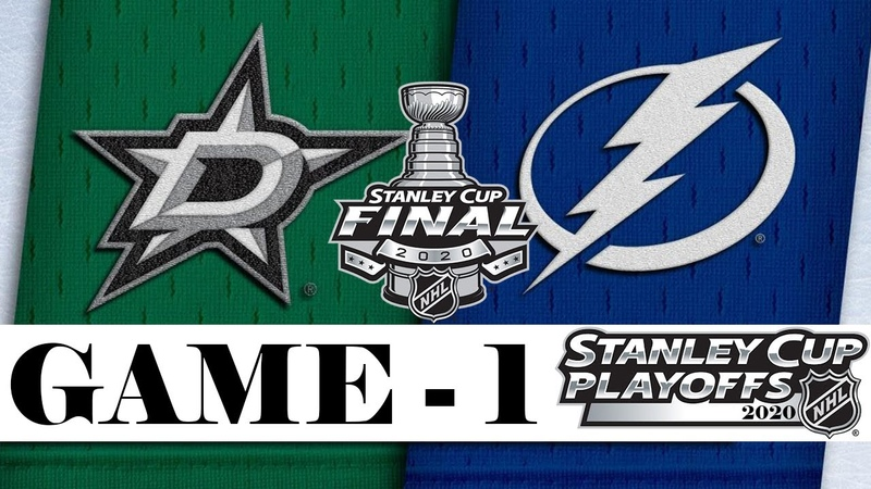 Даллас Старз Тампа Бэй Лайтнинг Кубок Стэнли Финал Game 1 Stanley Cup 2020 Обзор матча