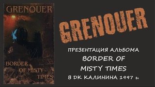 GRENOUER - Live in Perm (1997)