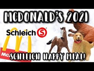 2021 SCHLEICH MCDONALD'S MODELS!