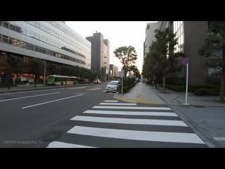 TOKYO City Cycling - Tennoz Isle To Shinjuku  Bike Ride POV - 4K 50fps (1)