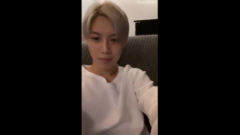 191103 TAEMIN Instagram live [ENG SUBBED]
