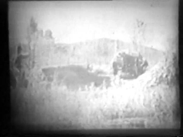Батальон в обороне Учебный фильм часть 1