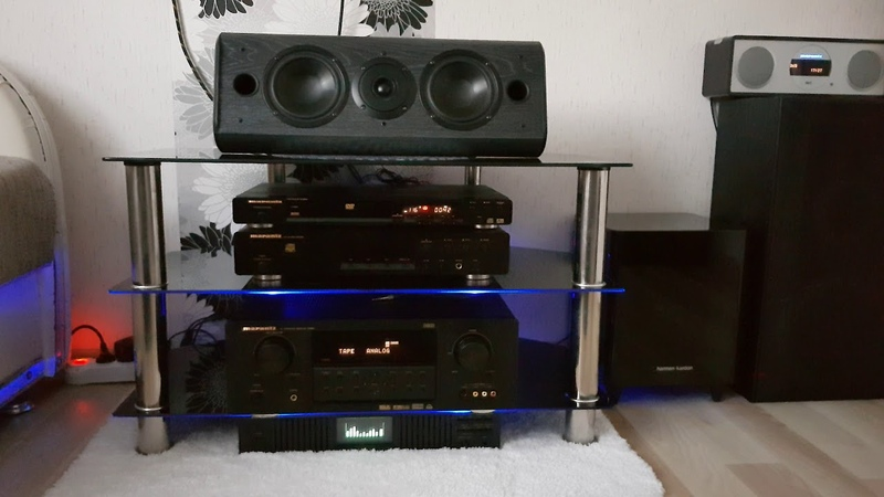 JAMO Center200 sound test