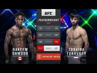 Hakeem Dawodu vs. Zubaira Tukhugov FULLFIGHT Highlights 26th September 2020