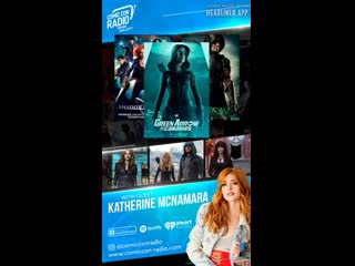 Онлайн-интервью для «Comic Con Radio»