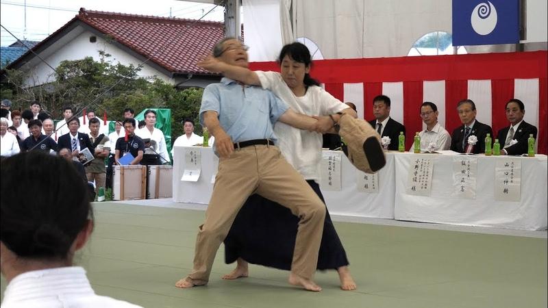 Women's Self-Defense - Aikido 74th Japan National Sports Festival (Iwama 2019)