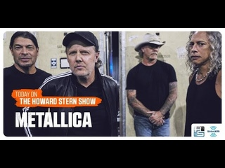 Metallica Interview On The Howard Stern Show 8-12-2020