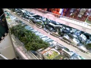 Шок жителей Санкт-Петербурга от цен в супермаркете Петропавловска-Камчатского, 25 января 2014 г.