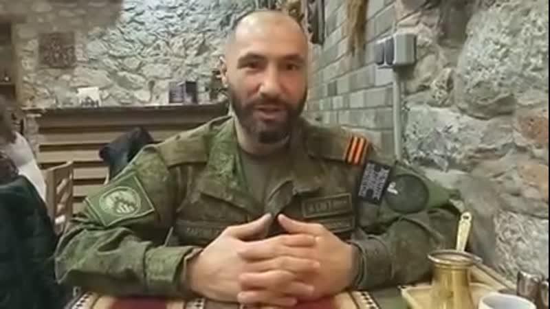 Доброволец из России в Арцахе Совет бойцам ВСН