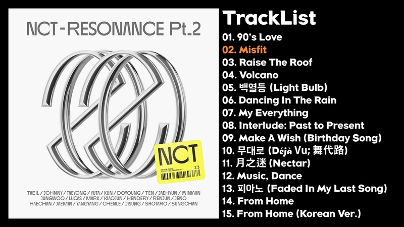 Full Album NCT RESONANCE Pt. 2 The 2nd a l b u m