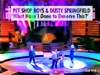 Pet Shop Boys : Dusty Springfield What Have I Done To Deserve This