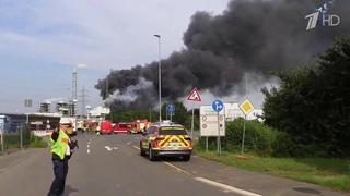 Мощный взрыв прогремел на западе Германии.