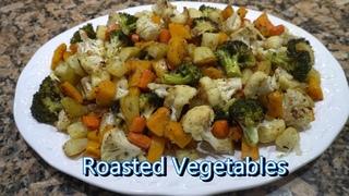 Italian Grandma Makes Roasted Vegetables