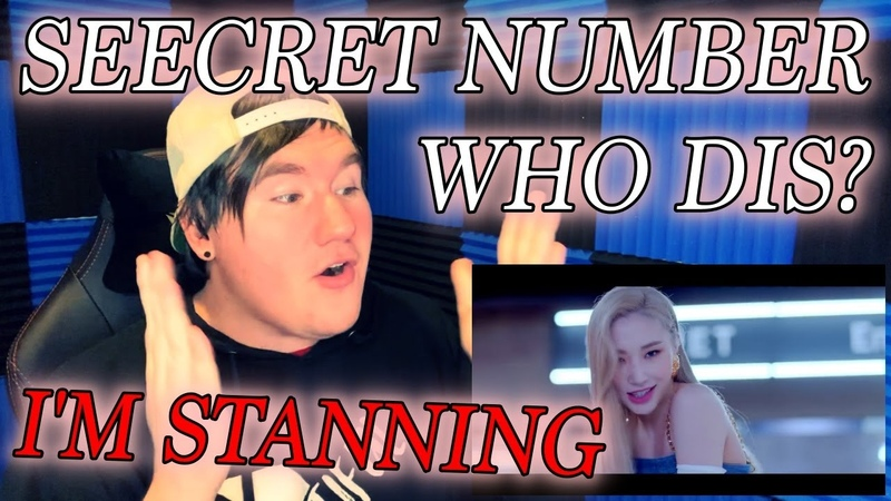 SECRET NUMBER 시크릿넘버 Who Dis? MV Reaction I M STANNING THEM